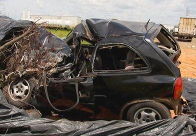 'Foi tudo muito rápido', diz motorista envolvido em acidente com 4 veículos em Marília